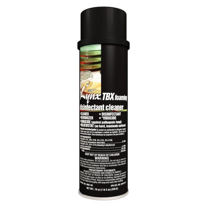 TBX Foaming Disinfectant | 20 oz. Aerosol