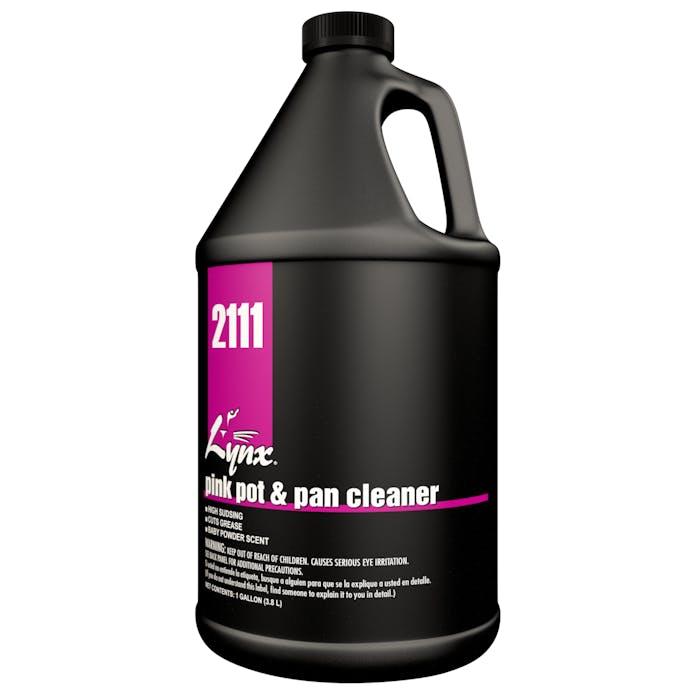 Pink Pot & Pan Cleaner | 4 / 1 Gallon Jug