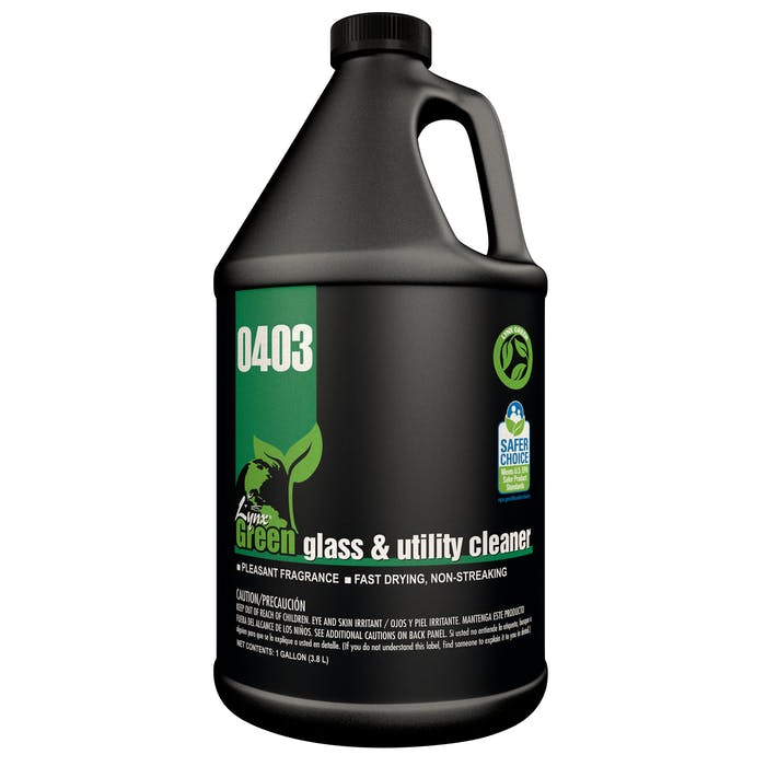 Lynx Green Glass & Utility Cleaner | 4 / 1 Gallon Jug