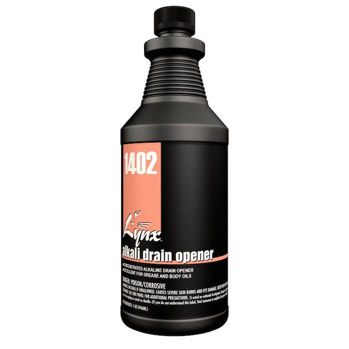 Alkali Drain Opener | 12 / 32 oz. Bottle
