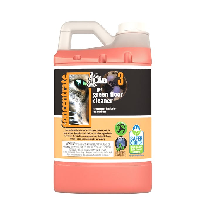 LynxLab Green Floor Cleaner | Dilution Control Bottle