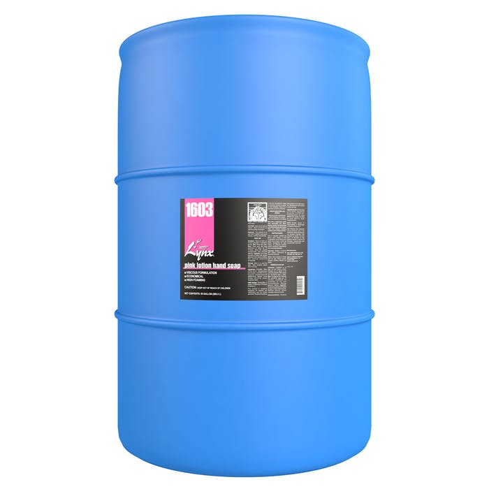 Pink Lotion Hand Soap | 55 Gallon Drum