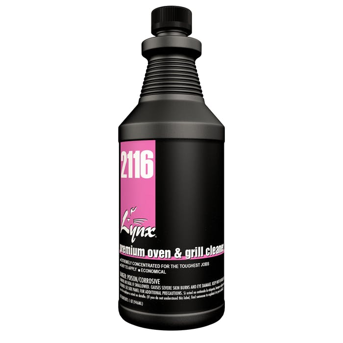Premium Oven & Grill Cleaner | 12 / 32 oz. Bottle
