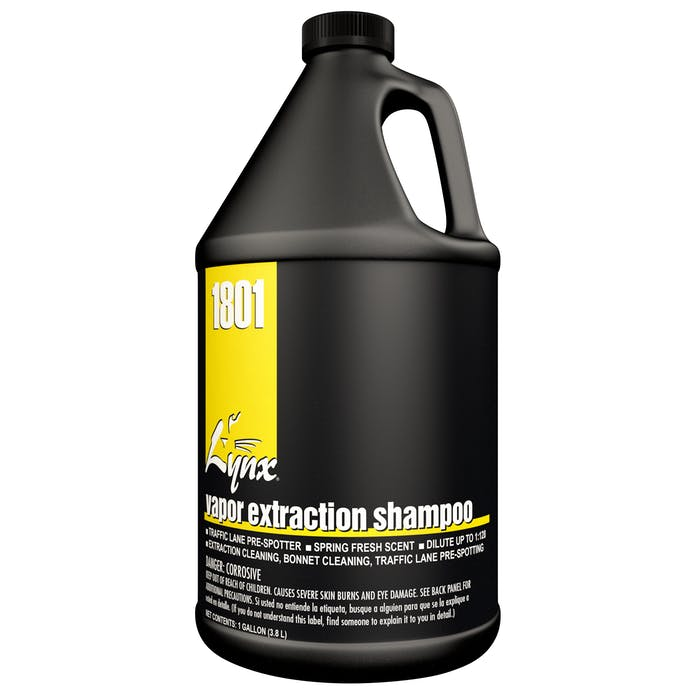 Vapor Extraction Shampoo | 4 / 1 Gallon Jug