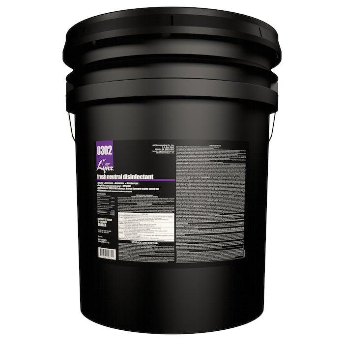 Lynx Green Fresh Neutral Disinfectant | 5 Gallon Pail