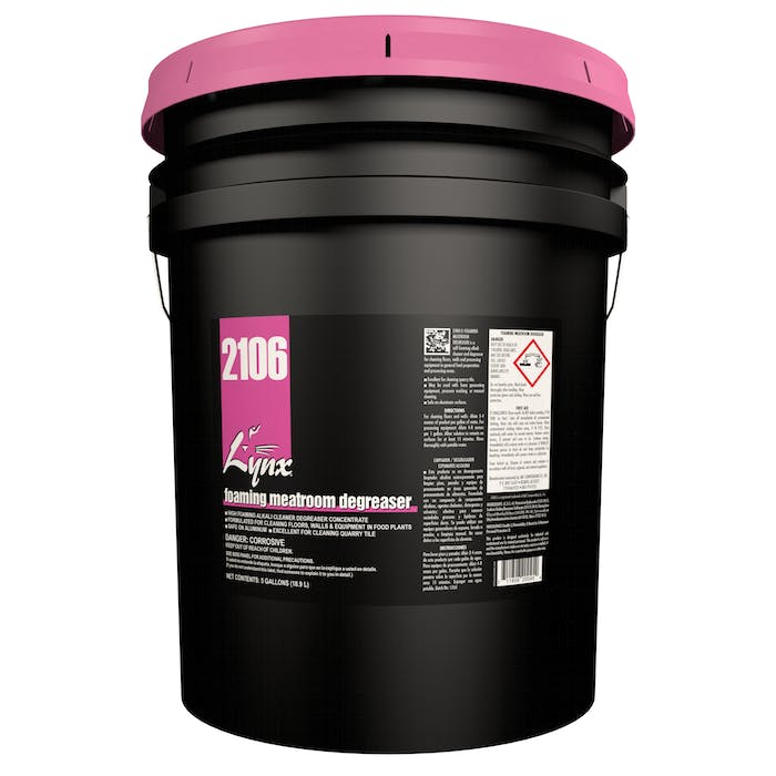 Foaming Meatroom Degreaser | 5 Gallon Pail