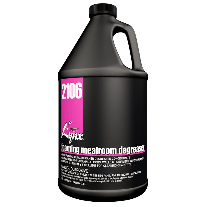 Foaming Meatroom Degreaser   4 / 1 Gallon Jug