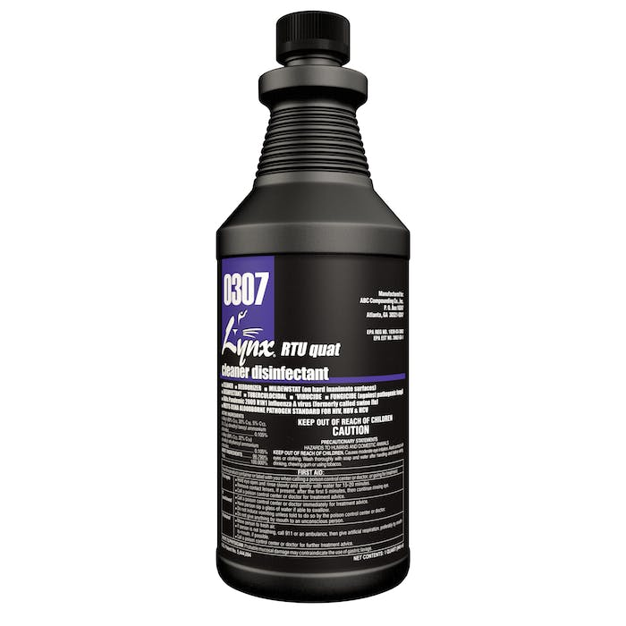RTU Quat Disinfectant | 12 / 32 oz. Bottle