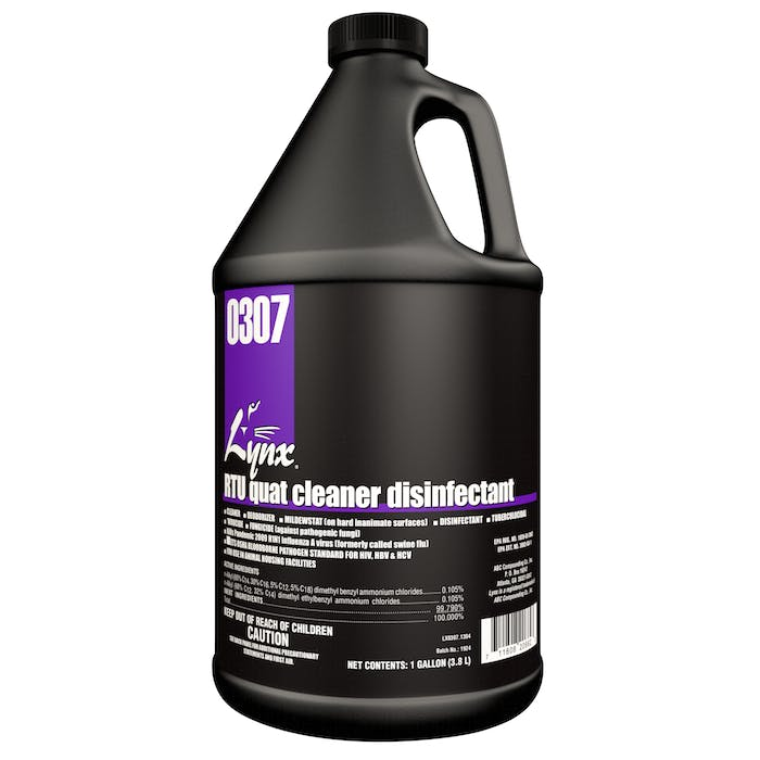 RTU Quat Disinfectant | 4 / 1 Gallon Jug