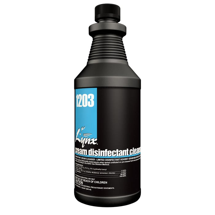 Cream Disinfectant | 12 / 32 oz. Bottle