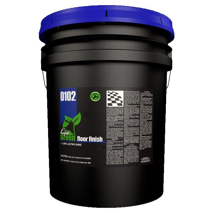 Lynx Green Floor Finish | 5 Gallon Pail